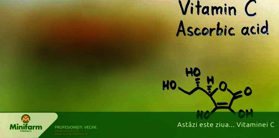 4 Aprilie - Ziua Vitaminei C