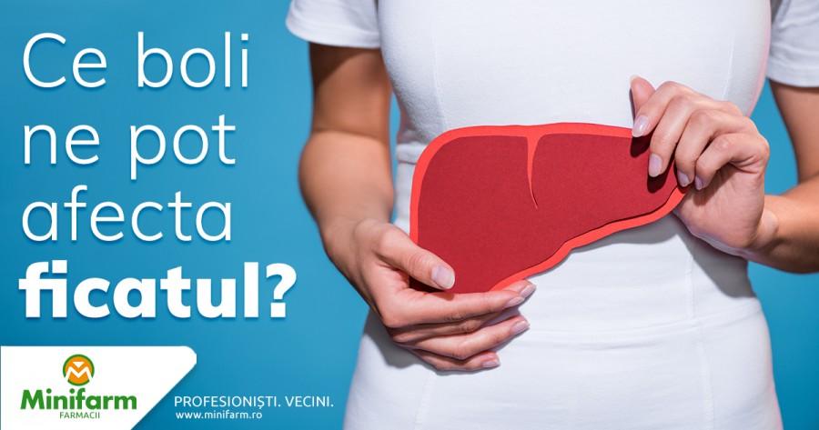 Ce boli ne pot afecta ficatul?