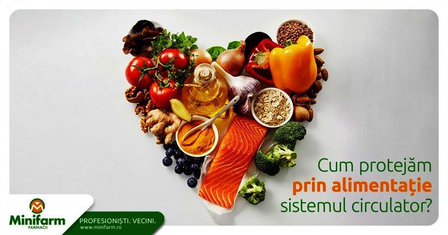 Cum protejam prin alimentatie sistemul circulator? Ce trebuie sa consumam daca suferim de afectiuni circulatorii?