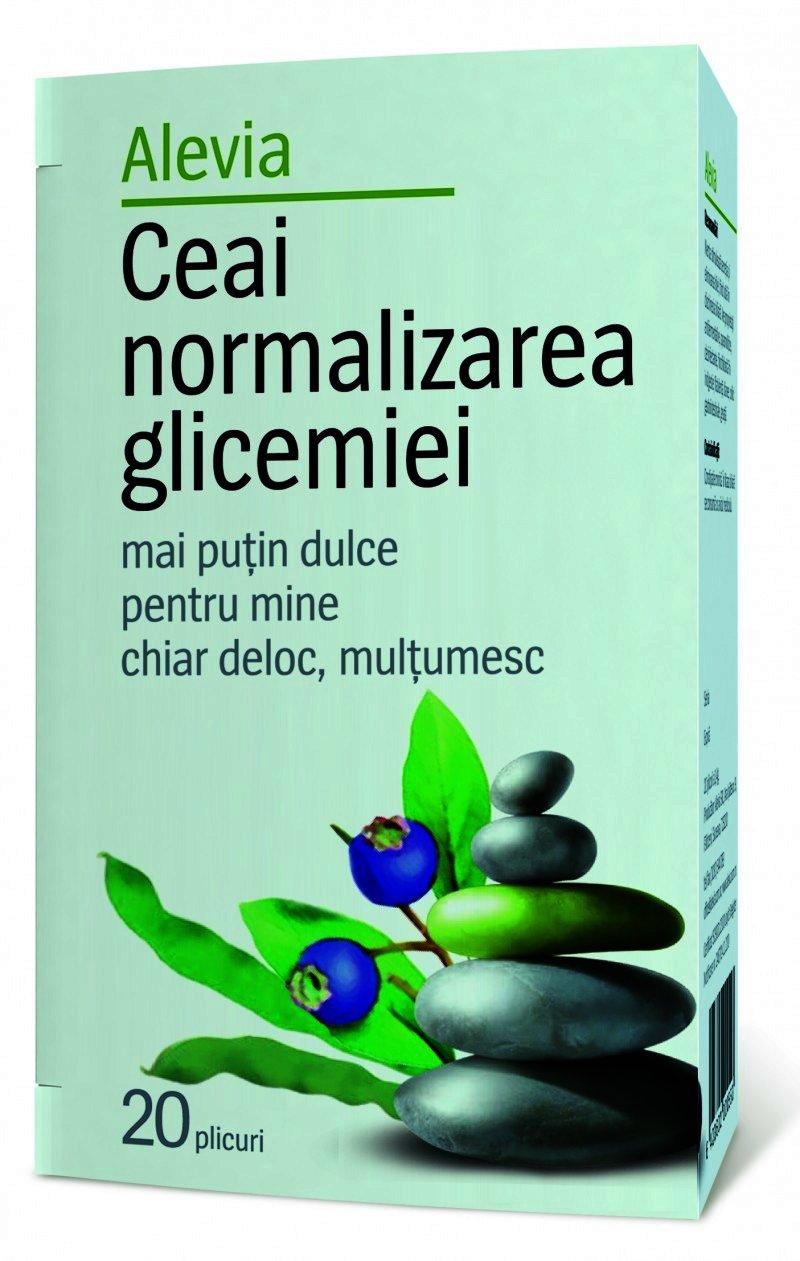 alevia ceai normalizarea glicemiei plc x 20 p43754 UHB - Alevia Ceai Normalizarea Glicemiei -plc x 20