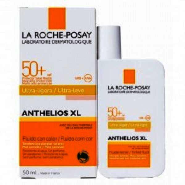 , La Roche Posay Anthelios XL Emulsie Fluida Colorata SPF50+ x 50ml, LA ROCHE-POSAY
