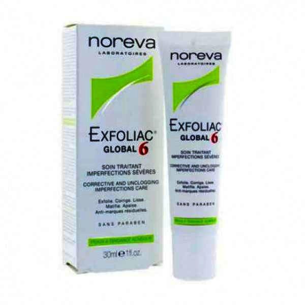 , Noreva Exfoliac Global 6 Crema x 30 ml, NOREVA