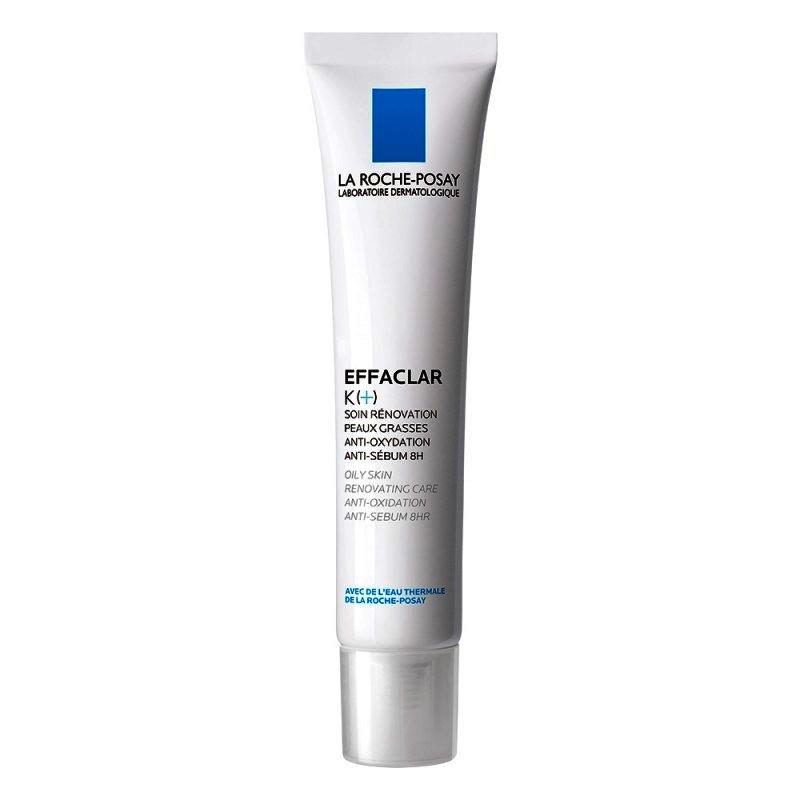 , Nou Crema Renovatoare La Roche-posay Effaclar K+ Pentru Tenul Gras. Antioxidana. Anti-sebum 8h., LA ROCHE-POSAY