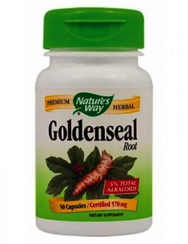, Secom GoldenSeal Root -cps x 50 - Natures Way, SECOM