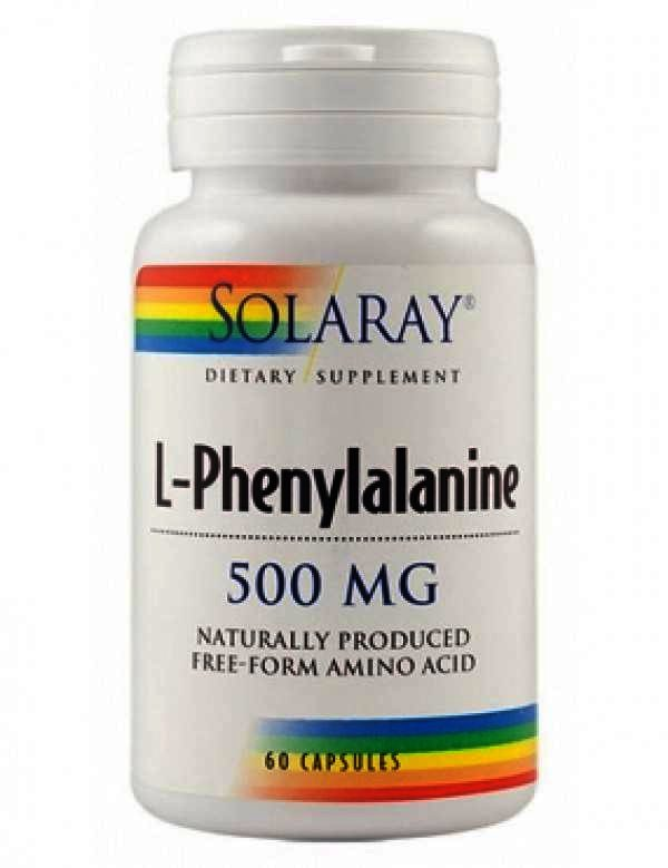 , Secom L-Phenylalanine 500mg - cps. x 60, SECOM