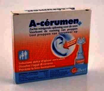 A-Cerumen solutie 2 ml x 10 doze - Gilbert