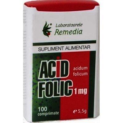 Acid Folic 1 mg -cpr x 100 - Remedia