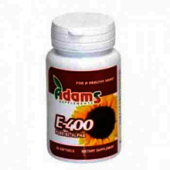 Adams Vitamina E 400 mg -cps x 30