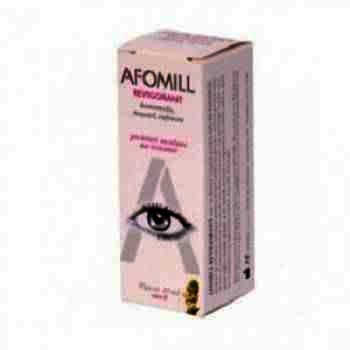 Afomill Lacrimi Artificiale 10 ml -fiole x 1