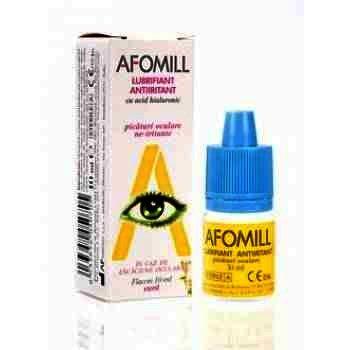 Afomill Lubrifiant Ochi Antiiritant x 10 ml