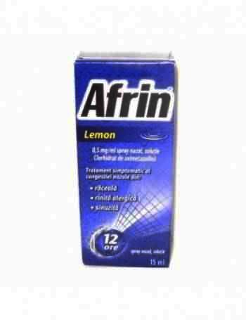 Afrin Spray Nazal Lemon x 15 ml
