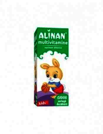 Alinan Multivitamine Kids -sirop x 150 ml - Fiterman