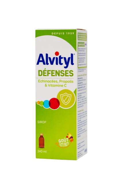 Alvityl Defenses + Vitamina D Sirop x 240 ml