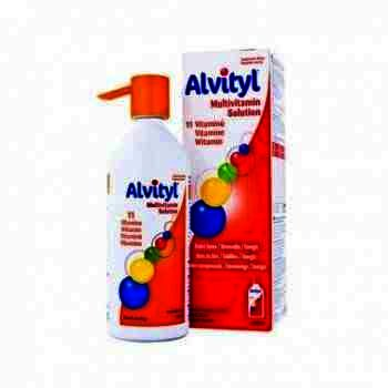 Alvityl Multivitamine Sirop x 150 ml