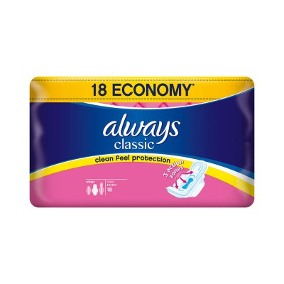 Always Classic Super Plus Absorbante x 18