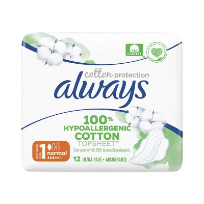 Always Cotton Protection Normal Absorbante x 12