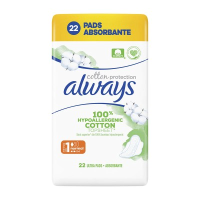 Always Cotton Protection Normal Absorbante x 22