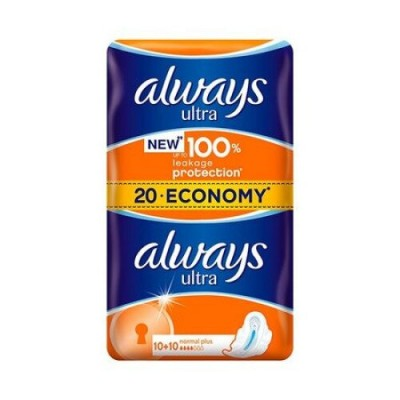 Always Ultra Normal Plus Absorbante x 20