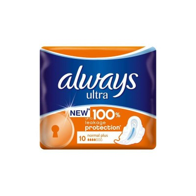 Always Ultra Normal Plus Absorbante x 10