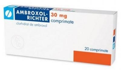 Ambroxol 30 mg x 20 cpr - Gedeon Richter