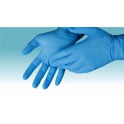 Ambulex Manusi Examinare Albastre Nepudrate XL x 100 - TZMO