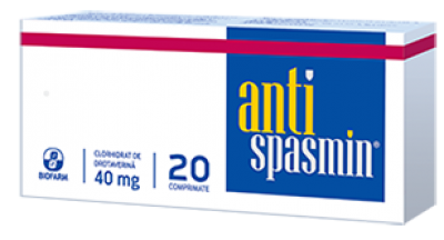 Antispasmin 40 mg -cpr x 20 - Biofarm