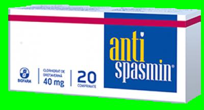 Antispasmin 40 mg -cpr x 20 - Biofarm