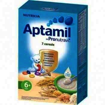 Aptamil Cereale cu Pronutravi 7 Cereale +6 luni x 250 g