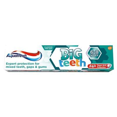 Aquafresh Pasta de Dinti Big Teeth 6-8 ani x 50 ml