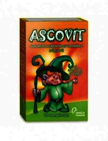 Ascovit 100 mg -cpr x 20 - GSK