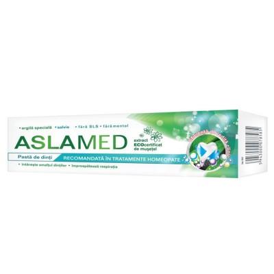 Aslamed Pasta Dinti pt. Tratament Homeopat x 75ml