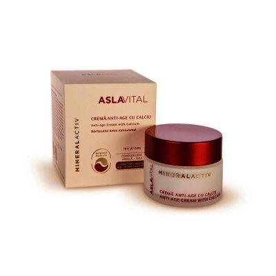 Aslavital Crema Anti-age cu Calciu 50ml