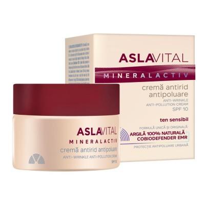 Aslavital Crema Antirid Antipoluare SPF10 x 50 ml