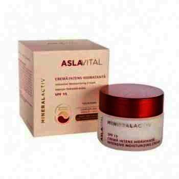 Aslavital Crema Intens Hidratanta SPF 15 50ml