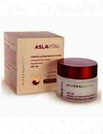 Aslavital Crema Ultraprotectoare SPF50 50ml