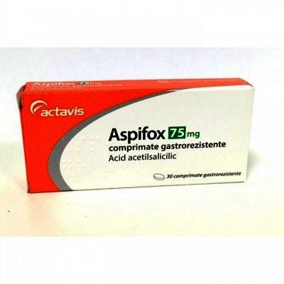 Aspifox 75mg x 30cpr - Actavis