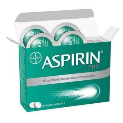 Aspirin 500 mg drajeuri x 8