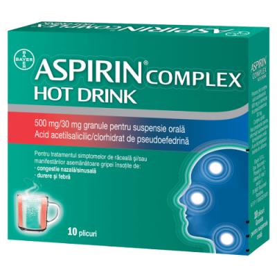 Aspirin Complex Hot Drink 500 mg/30 mg granule pentru suspensie orala