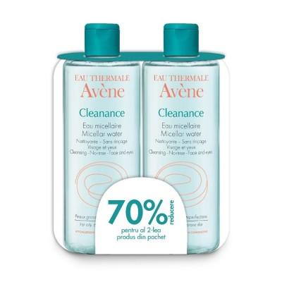 Avene Cleanance Apa Micelara x 400 ml (1+1-70% Oferta)
