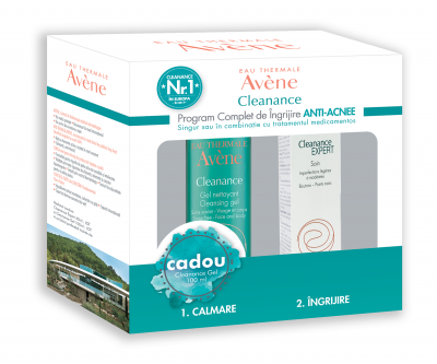 Avene Cleanance Expert Emulsie x 40ml + Cadou Cleanance Gel x 100ml