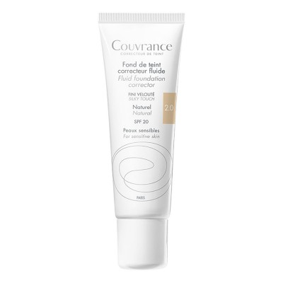 Avene Couvrance Fond de Ten Fluid Natural 2.0 SPF 20 x 30ml