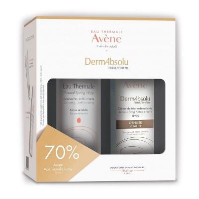 Avene Dermabsolu Crema Remodelanta Pigmentata x 40ml + Apa Termala x 150ml (1+1x70% Oferta)