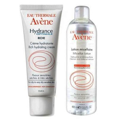 Avene Hydrance Optimale Riche x 40 ml + Lotiune Micelara x 100 ml
