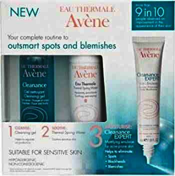 Avene Cleanance Expert Emulsie x 40ml + Eta x 50ml + Cleanance Gel x 100ml