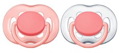 Avent Philips 178/26 Suzete 0-6 luni FreeFlow Fete 0%BPA -buc. x 2