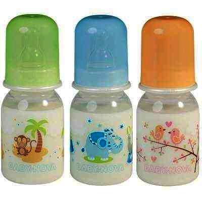 Baby Nova 46000 Biberon PP Decor Fara BPA x 125 ml
