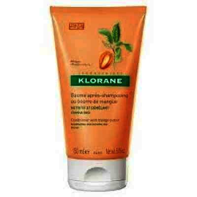 Balsam pentru par uscat Klorane cu extract de mango, 150ml
