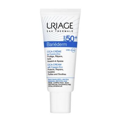Uriage Bariederm Cica Crema Spf50+, 40ml