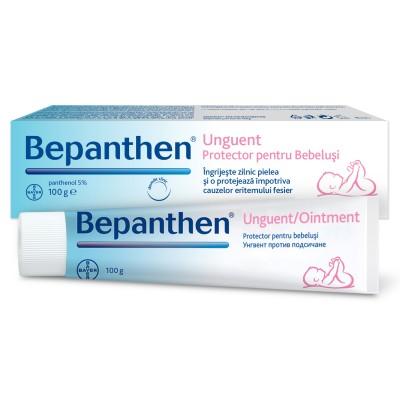 Bepanthen Unguent 100 gr, ingrijeste si protejeaza pielea impotriva iritatiilor de scutec