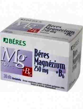 Beres Magneziu + B6 -cpr.film. x 50 - Beres P.